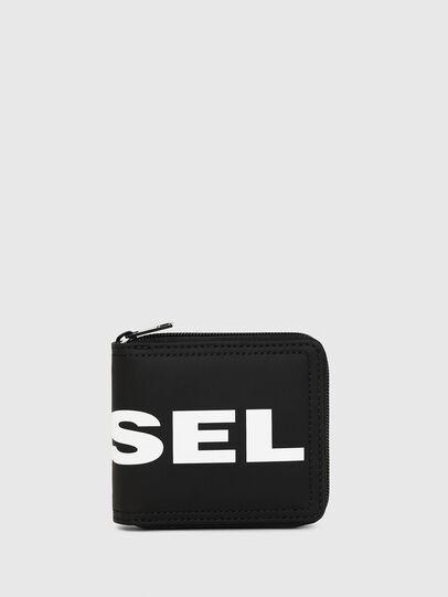 Diesel - ZIPPY HIRESH S, Black - Zip-Round Wallets - Image 1