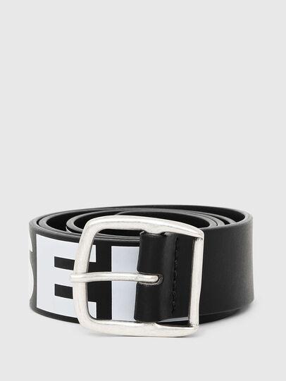 Diesel - BARBAR, Black/White - Belts - Image 1