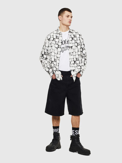 Diesel - S-CLES, White - Shirts - Image 6