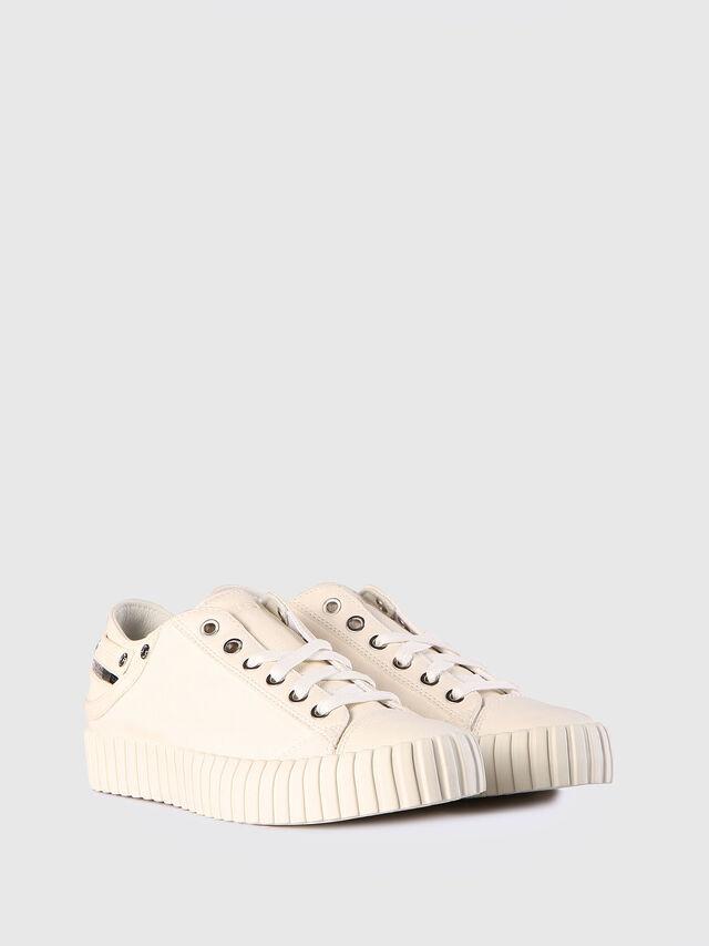 Diesel - S-EXPOSURE CLC W, White - Sneakers - Image 2