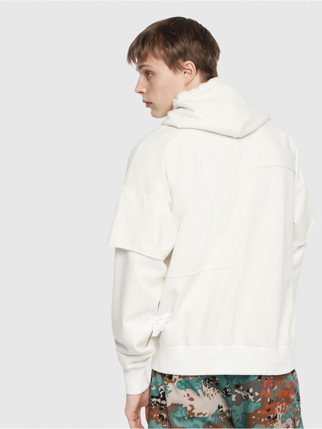 Diesel - S-TADAO, White - Sweaters - Image 2