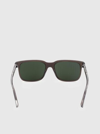 Diesel - DL0341, Dark Brown - Sunglasses - Image 4