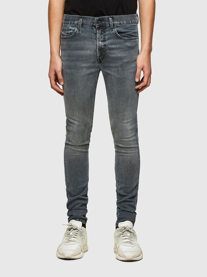 Diesel - D-Reeft JoggJeans® 069RD, Black/Dark grey - Jeans - Image 1