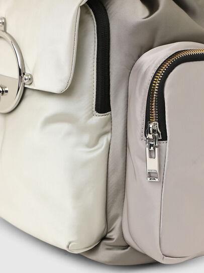 Diesel - ANERES R, White/Grey - Backpacks - Image 5