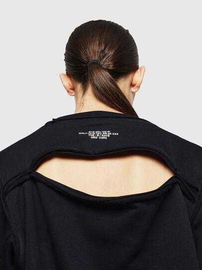 Diesel - F-LYANYDY-A, Black - Sweaters - Image 3