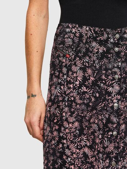 Diesel - O-PALMS, Black/Pink - Skirts - Image 3