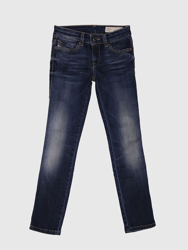 KIDS SKINZEE-LOW-J-N, Dark Blue - Jeans - Image 1