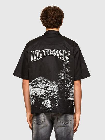 Diesel - S-WOLF, Black - Shirts - Image 2