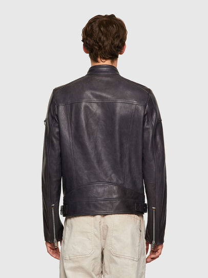 Diesel - L-CODY-NEW, Black - Leather jackets - Image 2