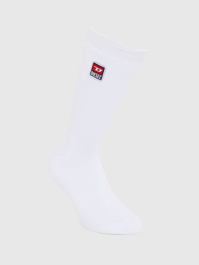 Diesel - SKM-RAY, White - Socks - Image 1