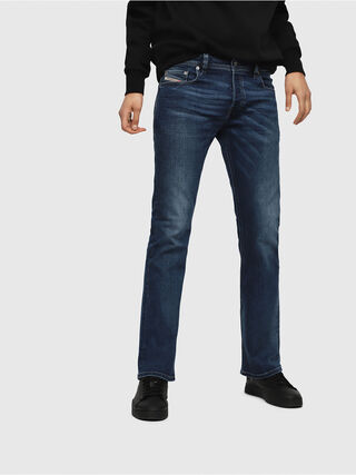 9798dab2 BELTHER 0886Z Men: Tapered Black/Dark grey Jeans   Diesel