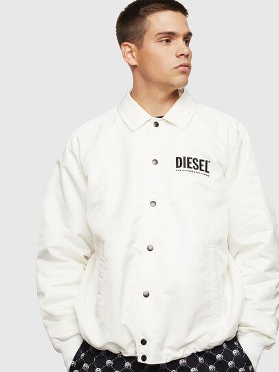 Diesel - J-AKIO-A, White - Jackets - Image 1