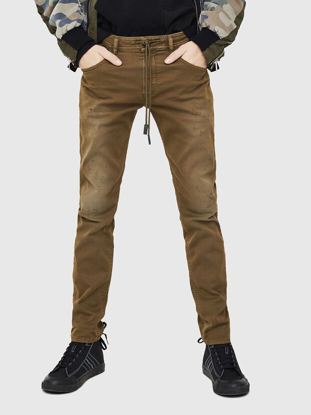 Thommer JoggJeans 069FH, Military Green - Jeans