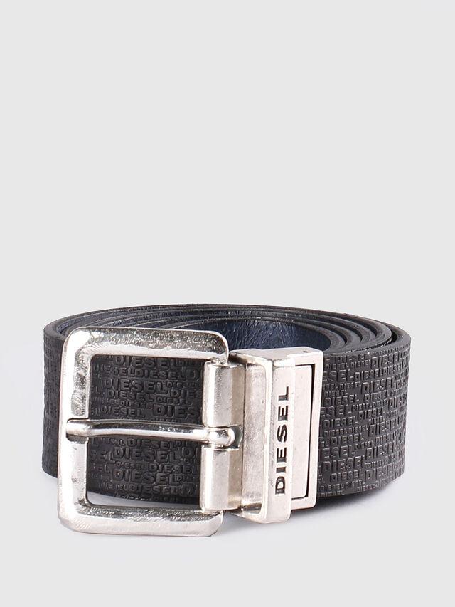 Diesel - B-TWIN, Black/Blue - Belts - Image 2