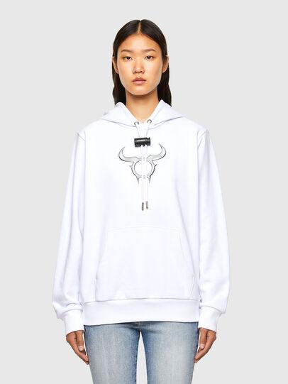 Diesel - CL-S-GIRK-HOOD-O, White - Sweaters - Image 2