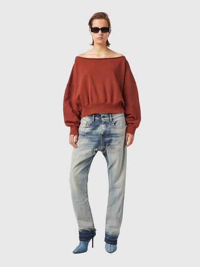 Diesel - F-BAT-B1, Brown - Sweaters - Image 4