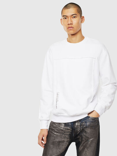 Diesel - S-BAY-RAW, White - Sweaters - Image 1