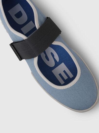 Diesel - H-MERLEY B, Azure - Sneakers - Image 4