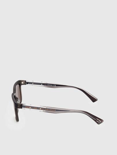 Diesel - DL0341, Dark Brown - Sunglasses - Image 3