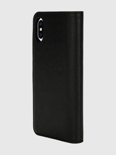 Diesel - DIESEL 2-IN-1 FOLIO CASE FOR IPHONE XS & IPHONE X, Black/White - Flip covers - Image 5