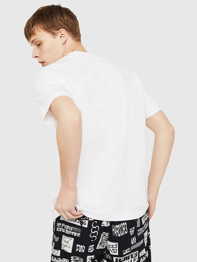 Diesel - T-JUST-Y17, White - T-Shirts - Image 2