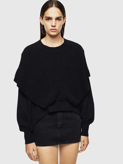 Diesel - M-NEXY, Black - Knitwear - Image 1
