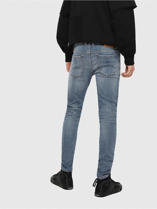 Diesel - Sleenker 086AP, Light Blue - Jeans - Image 2
