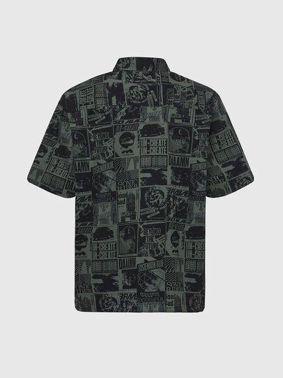 Diesel - S-ROHAD-B, Black/Green - Shirts - Image 2