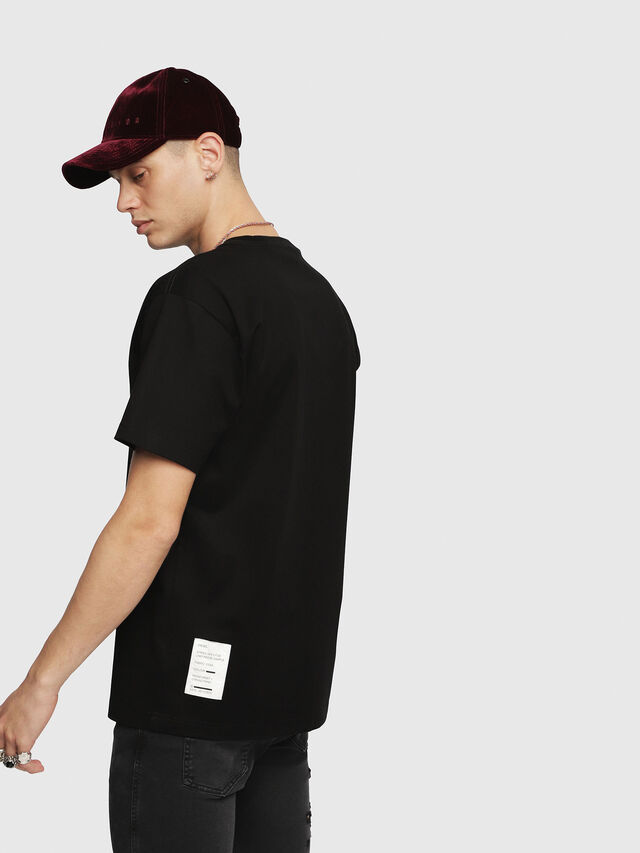 Diesel - T-WALLACE-YC, Black - T-Shirts - Image 2