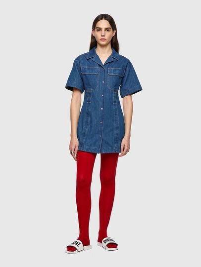 Diesel - DE-AMABEL-SP, Medium blue - Dresses - Image 1