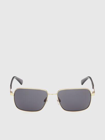 Diesel - DL0354, Black/Gold - Sunglasses - Image 1