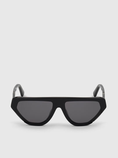 Diesel - DL0322, Black - Sunglasses - Image 1