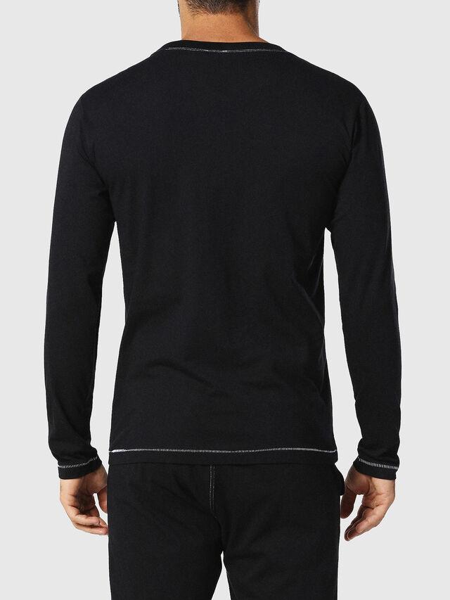 Diesel - UMLT-JUSTIN, Black - T-Shirts - Image 2