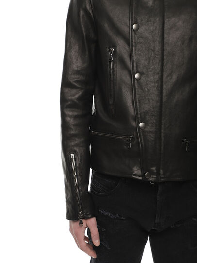 Diesel - LAZING,  - Leather jackets - Image 4