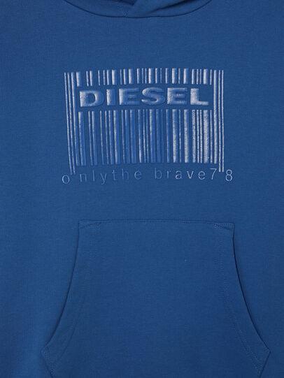 Diesel - SGIRKHOODCODE OVER, Blue - Sweaters - Image 3