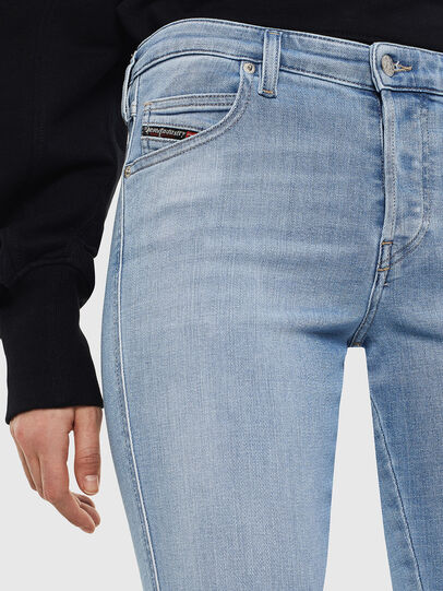Diesel - Babhila 0095D, Light Blue - Jeans - Image 3