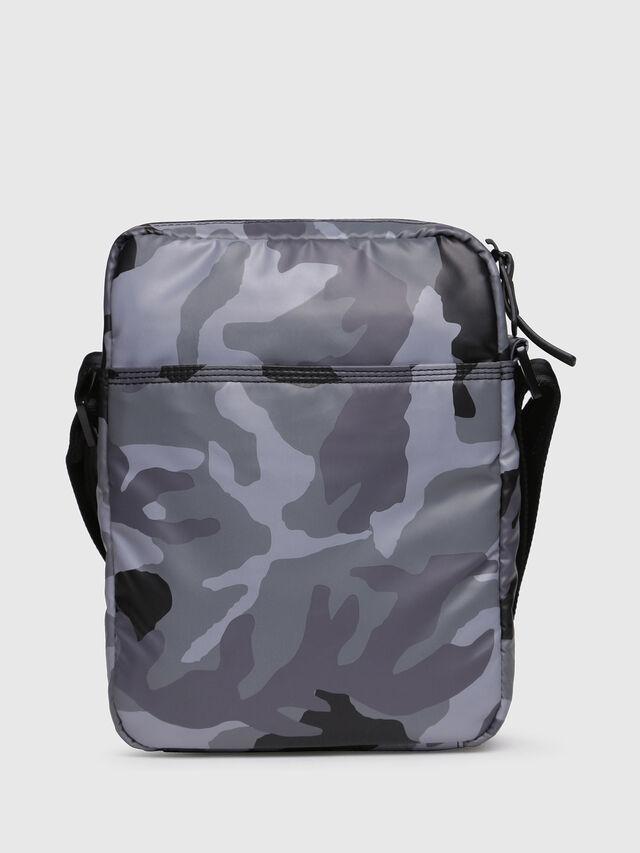 Diesel - F-BOLD SMALL CROSS, Grey - Crossbody Bags - Image 2