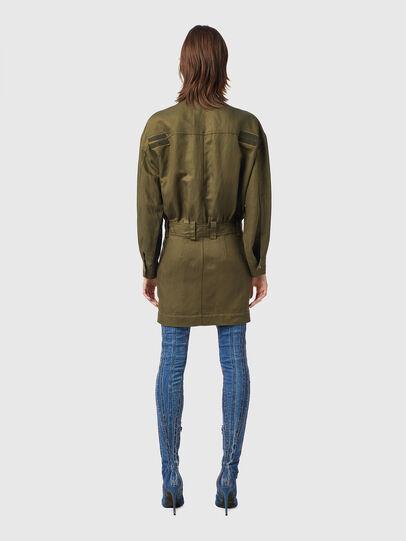 Diesel - D-ANGELICA, Olive Green - Dresses - Image 2