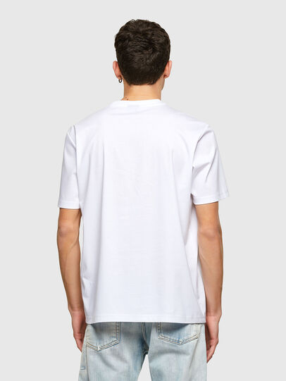 Diesel - T-JUST-E7, White - T-Shirts - Image 2