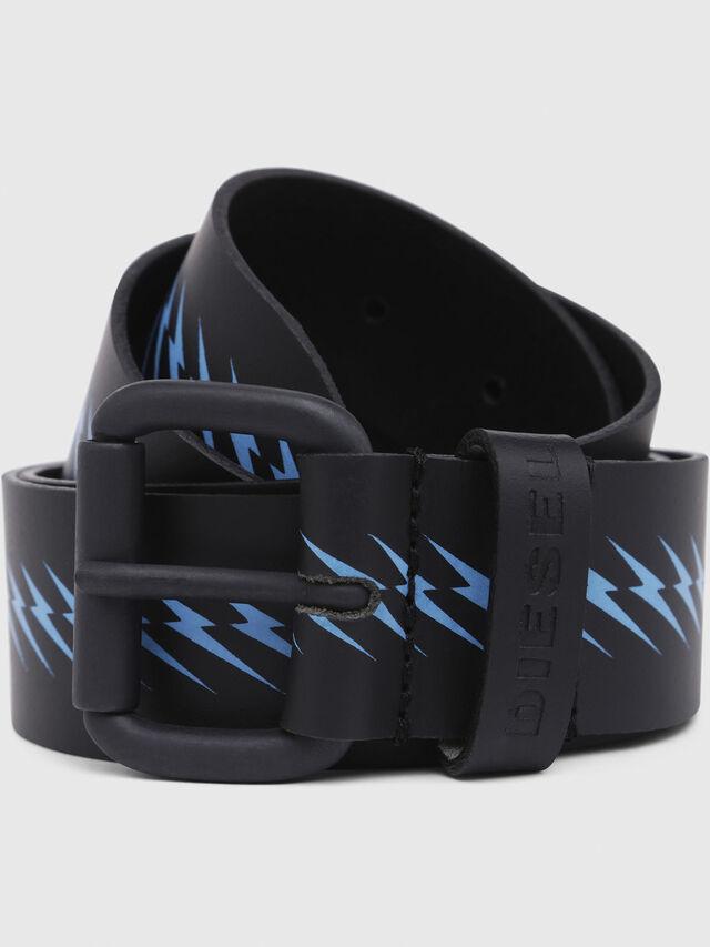 Diesel - B-AGNA, Black/Blue - Belts - Image 2