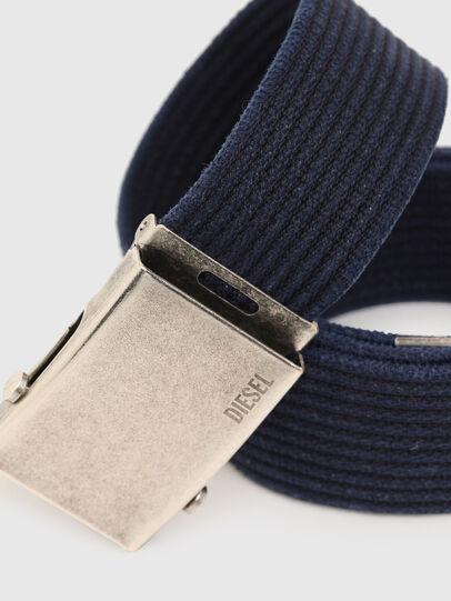 Diesel - B-COMBA, Blue - Belts - Image 2