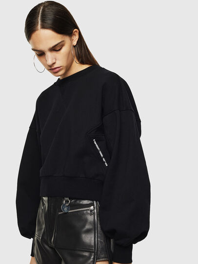 Diesel - F-MONDY, Black - Sweaters - Image 3