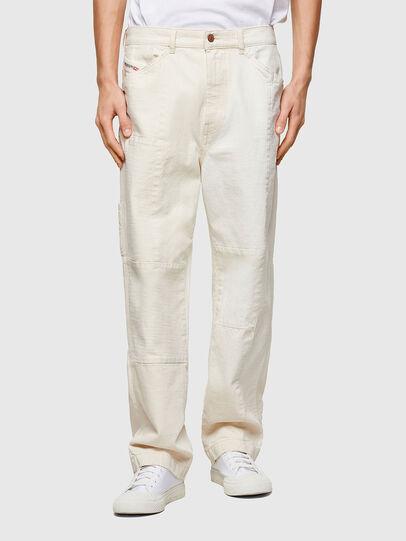 Diesel - D-FRAN-SP1, White - Pants - Image 1