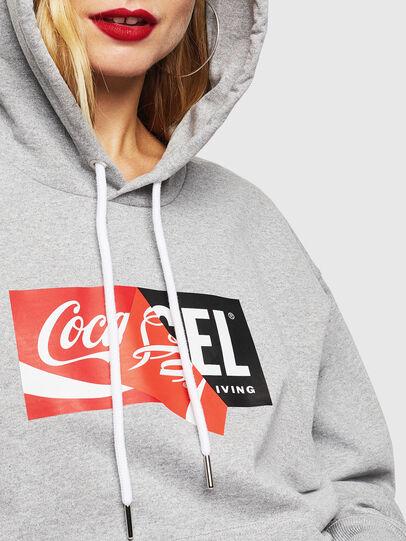 Diesel - CC-S-ALBY-COLA, Grey - Sweaters - Image 6