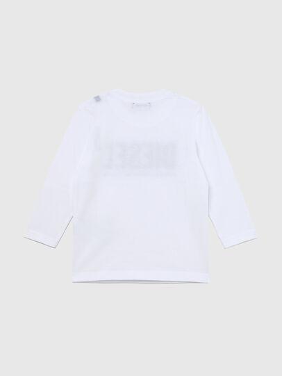 Diesel - TJUSTLOGOB ML-R, White - T-shirts and Tops - Image 2