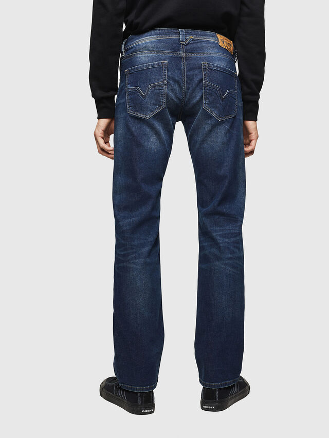 Diesel Larkee 0853R, Dark Blue - Jeans - Image 2