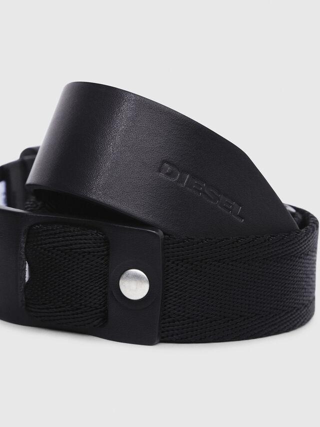 Diesel - B-BOSCO, Black - Belts - Image 2
