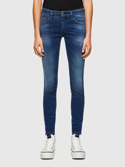 Diesel - Slandy Low 009FE, Dark Blue - Jeans - Image 1