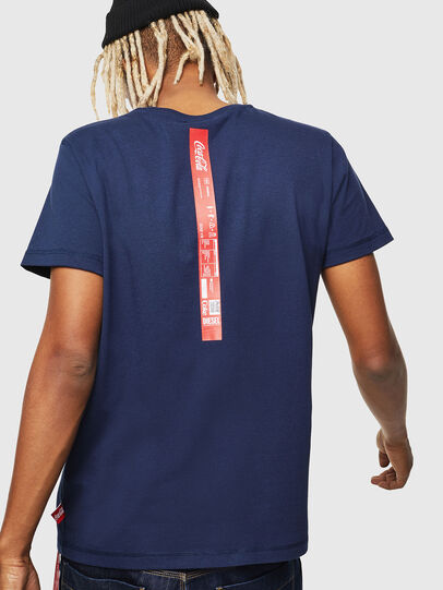 Diesel - CC-T-DIEGO-COLA, Dark Blue - T-Shirts - Image 3