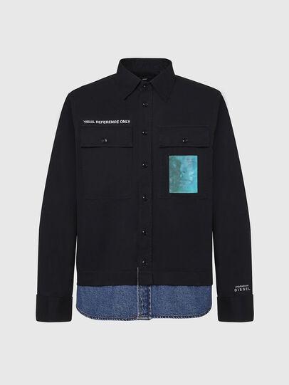 Diesel - S-DUSTIN, Black - Shirts - Image 1